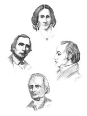 Abolitionists: Lovejoy,Miner,Rankin,Walker