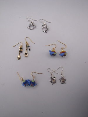 Tea Charm Earrings
